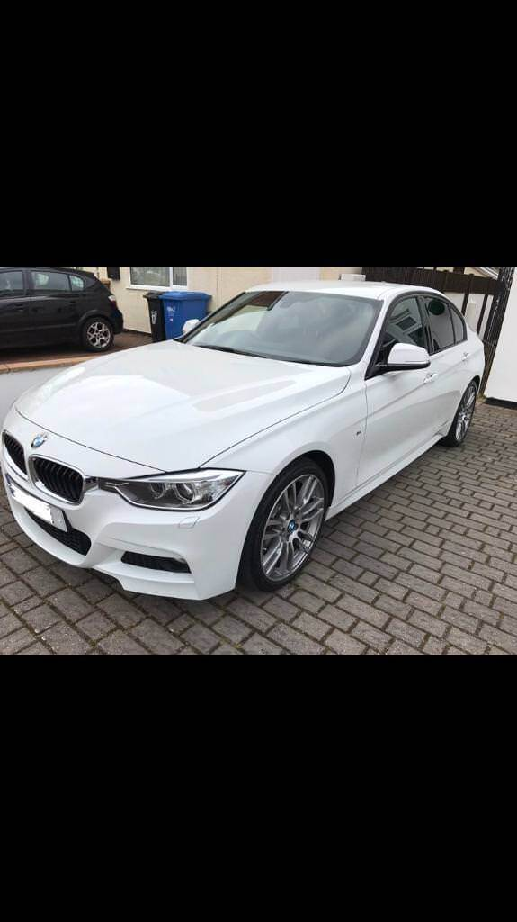 Bmw 320d m sport 2014 64 plate sport plus package