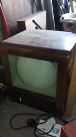 Bush TV. Early 1950s, collectable.