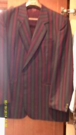 Stripe Jacket By Skopes of England Size to fitchest 46""