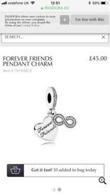 Pandora Forever Friends Dangly Charm