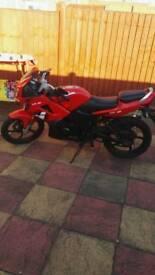 Lexmoto xtrs 125cc sports bike