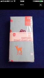 NEW Next single easycare fitted sheet