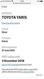 Toyota Yaris GS 1.0 vvti