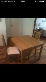 IKEA BJURSTA extendable dining table. Less than year old. Never used