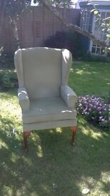 HSL wing back armchair