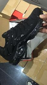 BRAND NEW AIR MAX TNS (Triple Black with box)