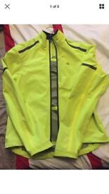 FWE high vis cycling jacket - large