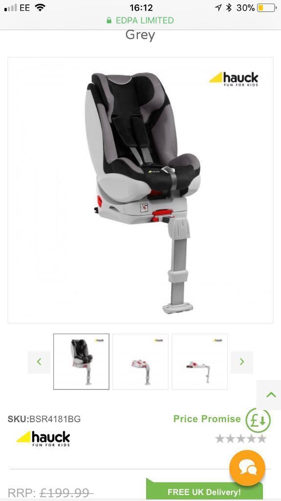 Hauck varioguard car seat