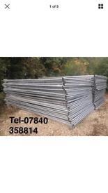 Can deliver, Heras security mesh fencing 3.5 metres x 2 metres
