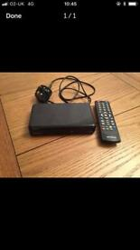 Digital box and remote