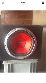 12 inch Sony subwoofer in box - fully working 1300 watts