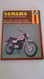 yamaha 100/125/175 trials bike workshop manual