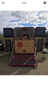 Converted Vintage horse trailer