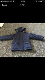 M&S boys quilted jacket, age 2yrs