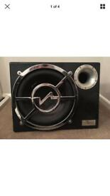 12 inch vibe blackair subwoofer with built in amp