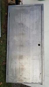 """36"""" X 7' Steel Door With Frame"""