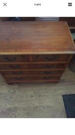 Vintage style small Chest Of Drawers.