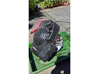 Eclipse injection pump,lawnmower engine,engineers vice,bell petrol can roof irons roofing tourch