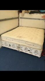 Super king size bed and mattress £750ono