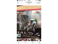 Halo limited edition Xbox 360 with Kinect and 11 games
