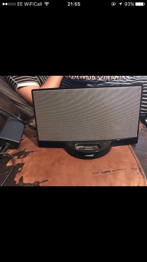Bose sound dock digital music system