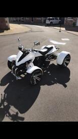 Spy f1 quad 350cc 2016 only 300 miles