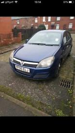 2005 Vauxhall Astra 1.7 CDTI ( red TI model)