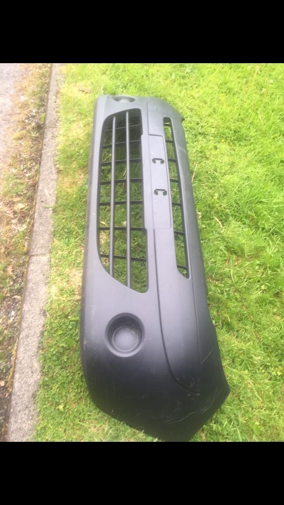 Renault kangoo front bumper can post