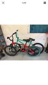 2 project bmx bikes