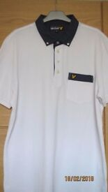 Mens Lyle and Scott short sleeved shirt