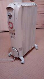 Delongi oil filled radiator