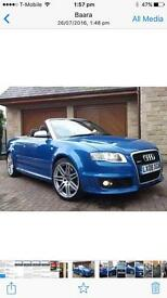 Audi. Rs4 convertible with 45k miles raw power