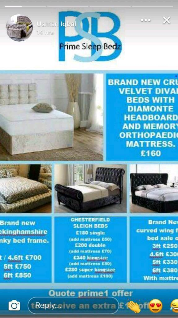 Brand New quality beds for sale