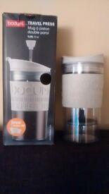 Bodum Travel Press (Brand New Worth £15) with extra lid