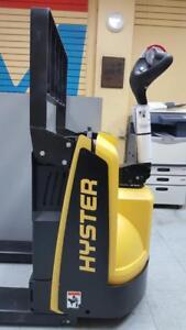 Transpalette Hyster Neuf Jigger electrique 1 an GARANTIE pump truck electric chariot elevateur forklift