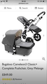 Bugaboo Cameleon 3 plus - excellent condition