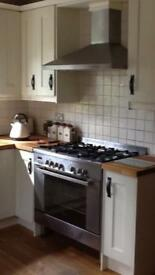 Double electric oven and hob