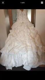 Designer Princess Wedding Dress Romance by Tom Flowers