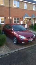 ford focus 2003 red