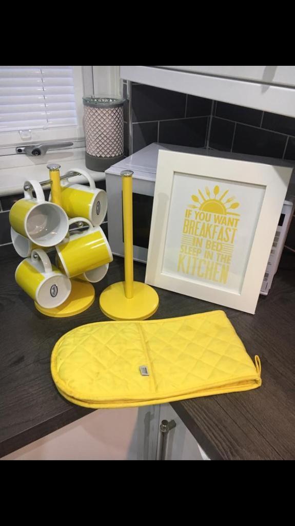Yellow Kitchen Accessories