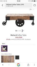 DFS Mallard Coffee Table Nearly New