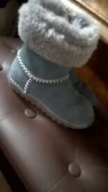 girls clarks ankle boots