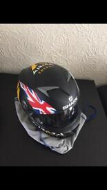 Shark Scott Redding replica motorcycle helmet