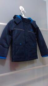 BNWT Slazenger Boys Navy Padded Jacket 2-3 years