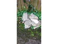 Free to collector - broken paving slabs & rubble
