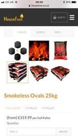 Coal - smokeless house coal