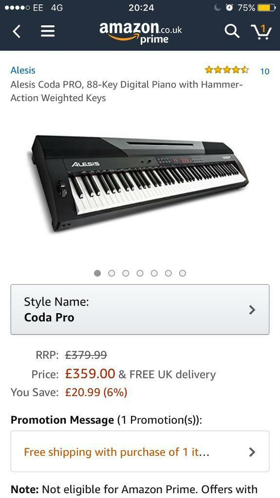 99% new electrical piano