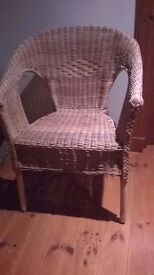 Wicker type chair for sale