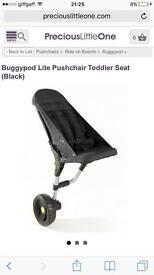 Buggy pod lite toddler pushchair seat