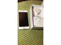 APPLE Iphone 6 white 16 GB BRAND NEW 12 APPLE MONTH WARRANTY